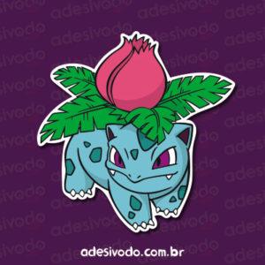 Adesivo do Ivysaur Pokémon