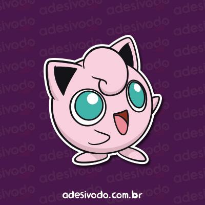 Adesivo Jigglypuff Pokemon