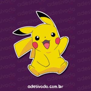 Adesivo do Pikachu