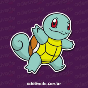 Adesivo do Pokemon Squirtle