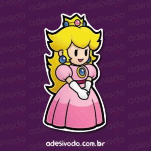 Adesivo da Princesa de Super Mario