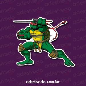 Adesivo Tartarugas Ninjas Raphael