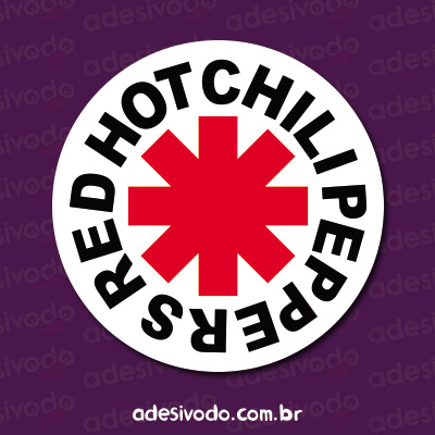 Adesivo do Red Hot Chili Peppers