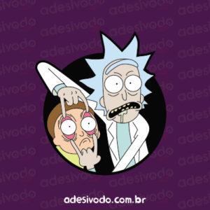 Adesivo Rick and Morty