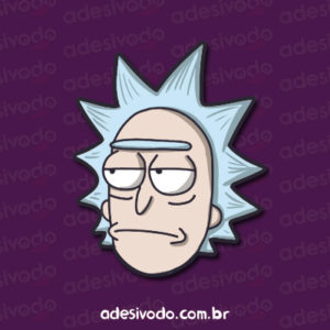 Adesivo do Rick
