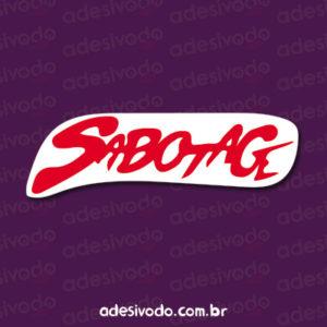 Adesivo do Sabotage