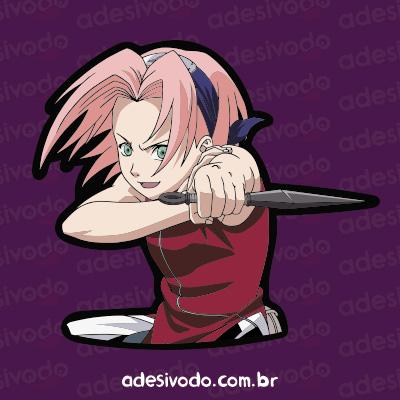 Adesivo Naruto Sakura
