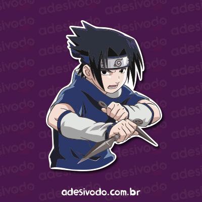Adesivo do Sasuke Naruto