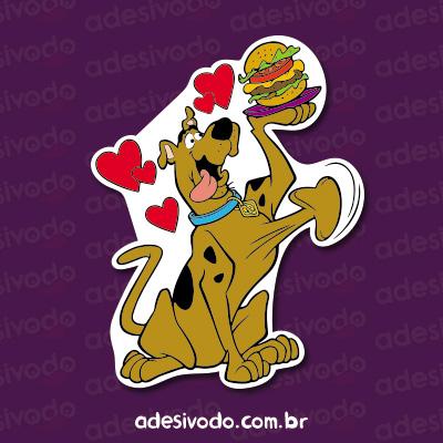 Adesivo do Scooby Doo