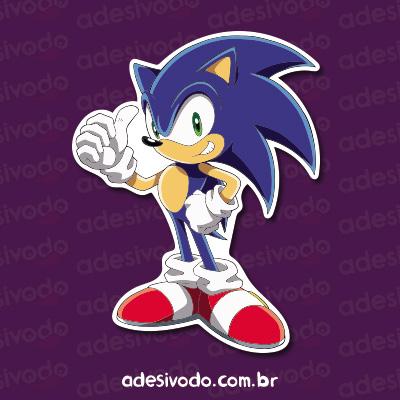Adesivo Sonic