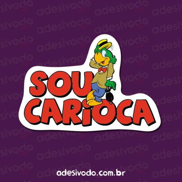 Adesivo Sou Carioca - Zé Carioca