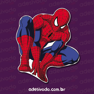 Adesivo do Spiderman
