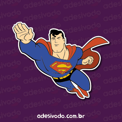 Adesivo Superman