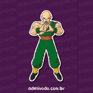 Adesivo do Tenshinhan Dragon Ball