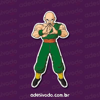Adesivo do Tenshinhan Dragon Ball
