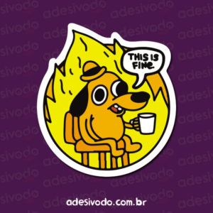 Adesivo This is fine