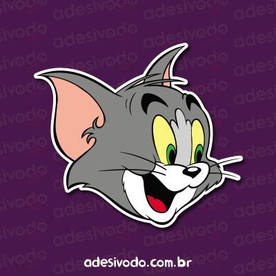 Adesivo do Tom e Jerry