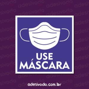 Adesivo Use Máscara