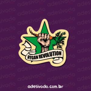 Adesivo Vegan Revolution