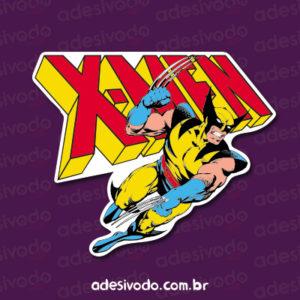 Adesivo do Wolverine X-Men