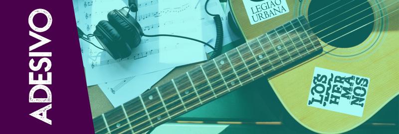 Adesivo para colar no violão
